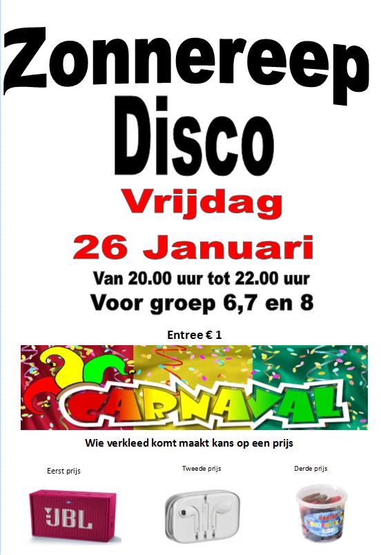 26 januari: Disco in Carnaval-stijl!