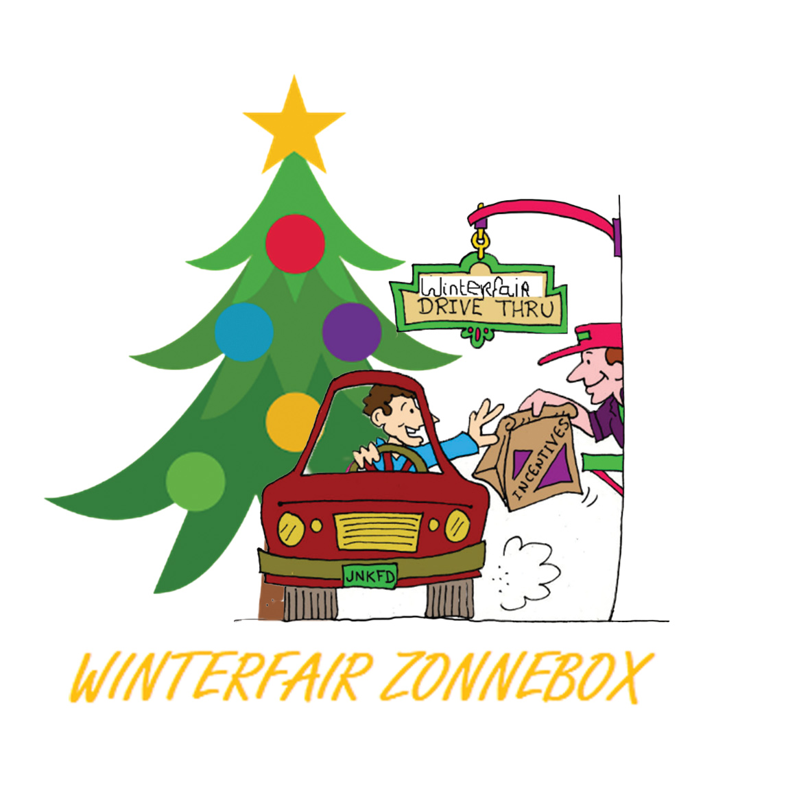 Winterfair Zonnebox